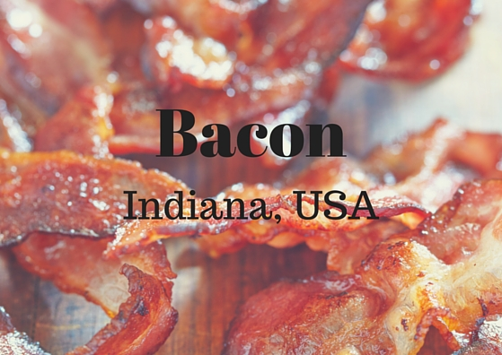 Bacon city in Indiana USA