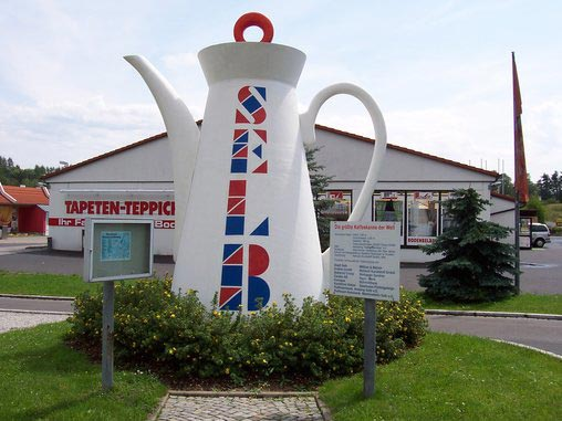 World S Largest Coffee Pot In Selb Bavaria Germany