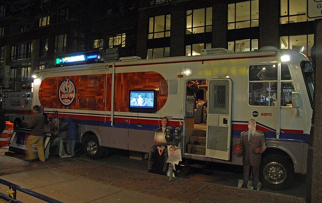 RV owned by ESPN RV Rental Boston