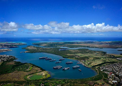 Joint Base Pearl Harbor-Hickam in Honolulu
