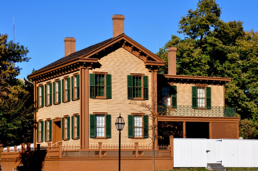 Abraham Lincoln House in Springfield