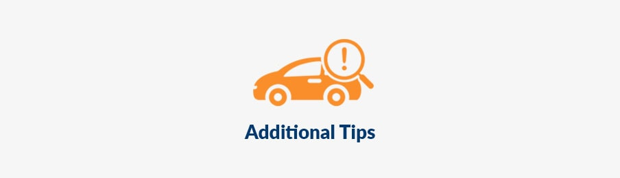 Additional Car Rental tips in the US guide banner