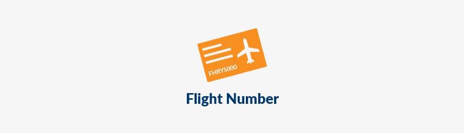 flight number