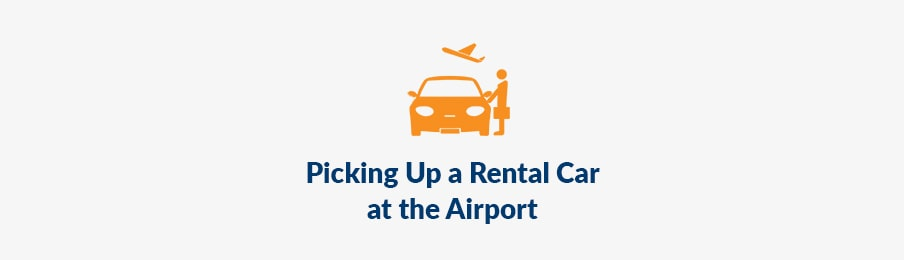 Picking Up a Rental Car at the Airport