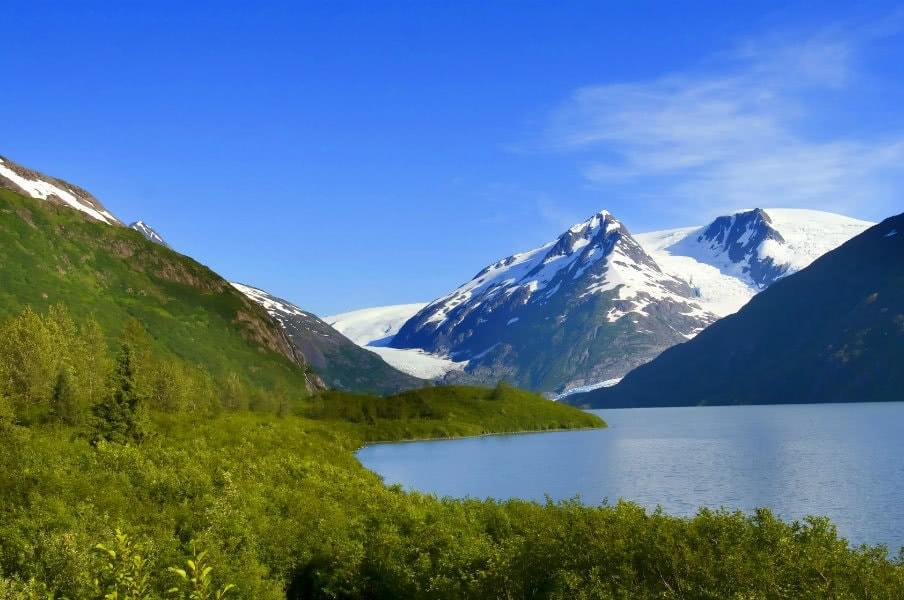 Landscape near Anchorage
