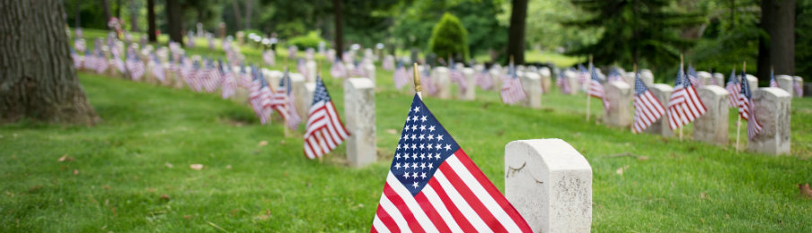Remembering War Heroes - Memorial Day Weekend