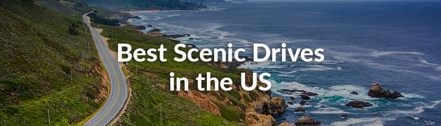 Best Scenic Drives in the USA banner