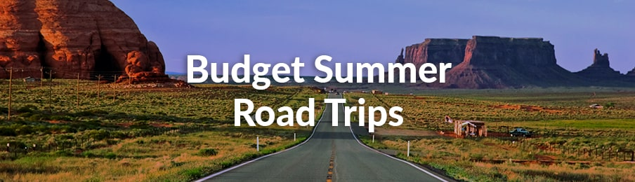 budget summer road trips
