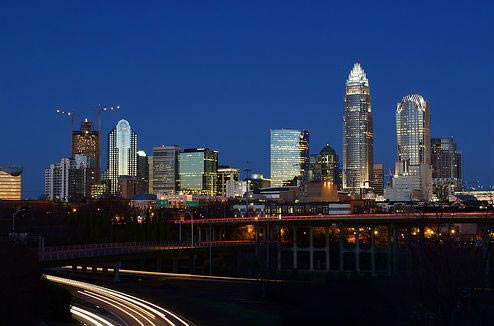 airport car rental Charlotte