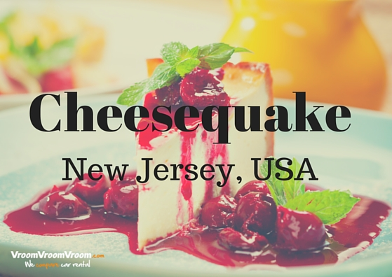 Weird USA names Cheesequake, New Jersey