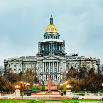 the famous colorado state capitol in denver