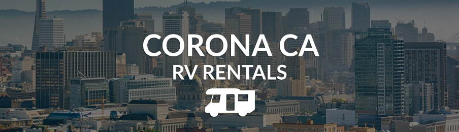 corona california rv rentals in the US banner