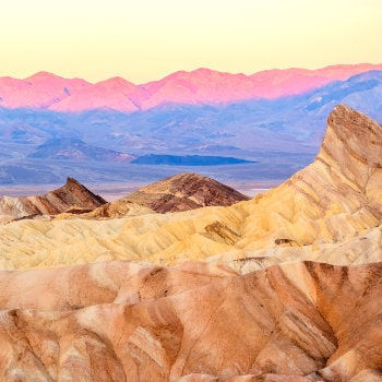 death valley national park at sunrise california