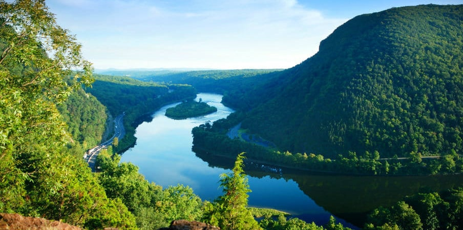 Delaware Water Gap, Pennsylvania, USA