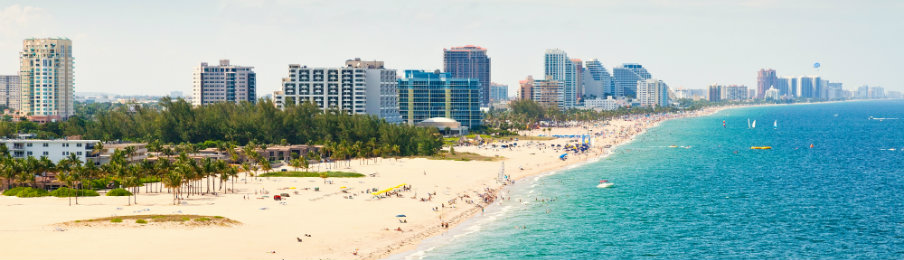 stunning view of fort lauderdale beach