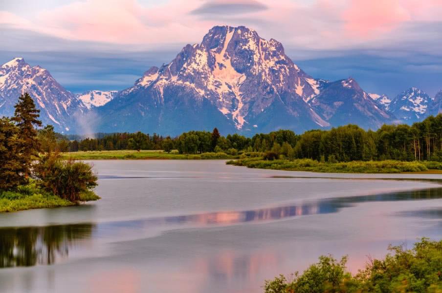 Grand Teton Mountains in Wyoming, USA