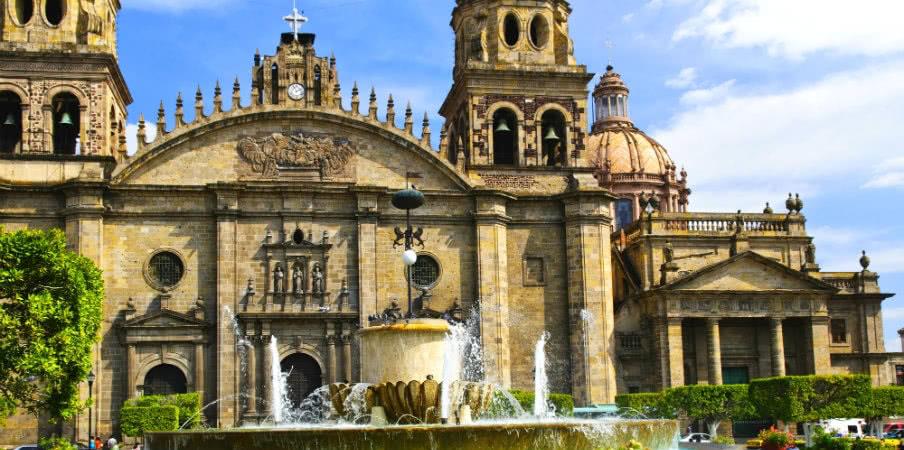 guadalajara cathedral in jalisco