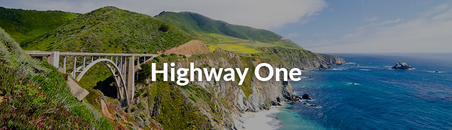 Highway One road trips in the US banner