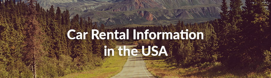 Car Rental Information in the USA