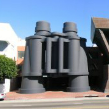 largest binocular at venice
