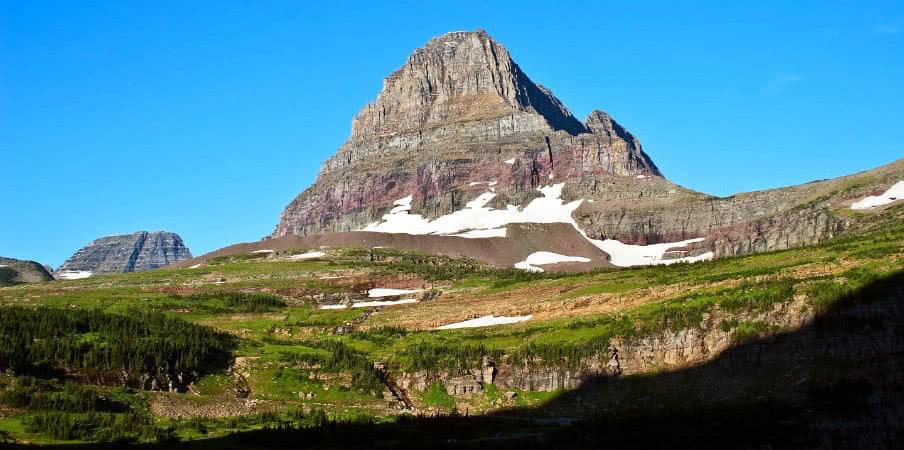 Logan Pass at Glacier National Park, Montana, USA