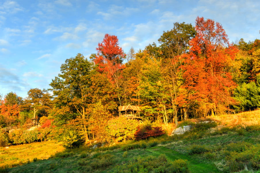 Mohonk Preserve in New Paltz, New York, US