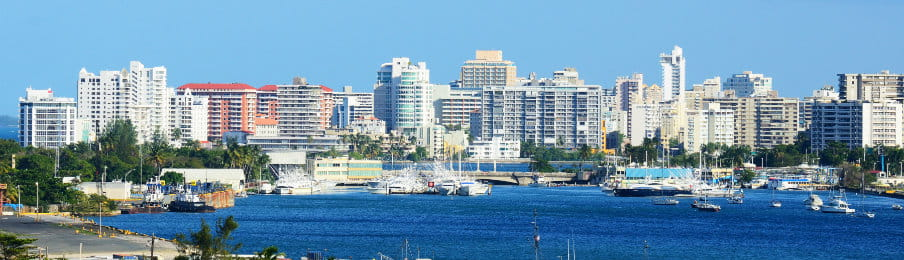New City, San Juan, Puerto Rico skyline