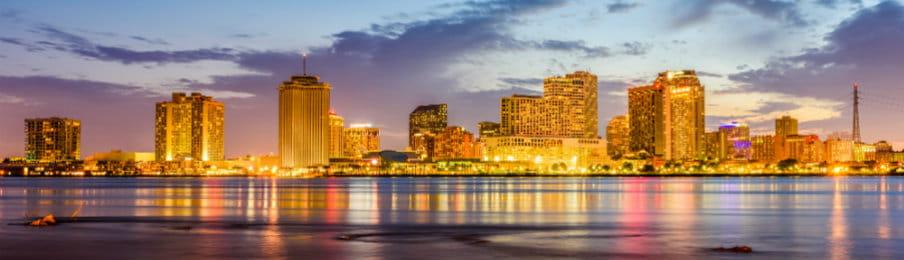 New Orleans, Louisiana, US skyline