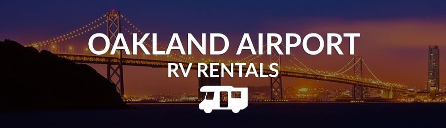 oakland airport rv rentals in the US banner