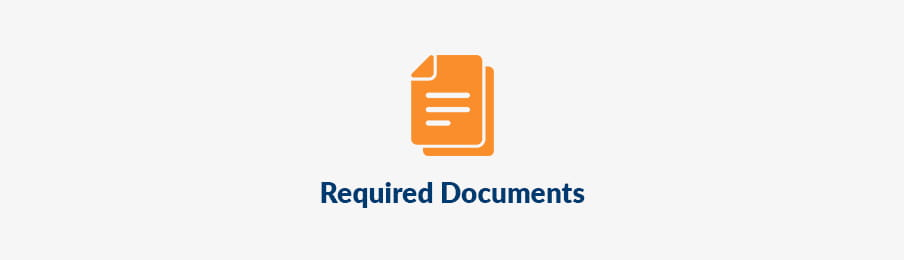 Required documents for RV pick up banner
