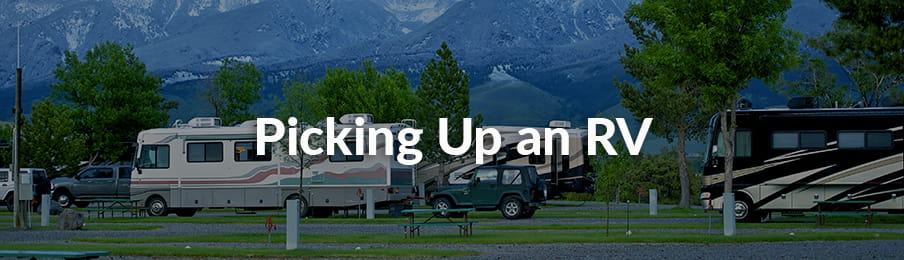 Picking Up an RV in the US guide banner