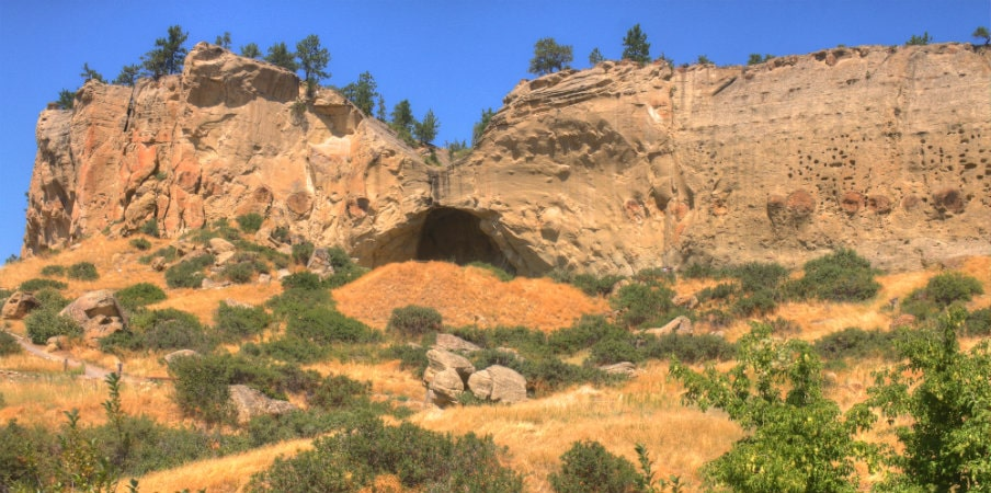 Pictograph Caves, Montana