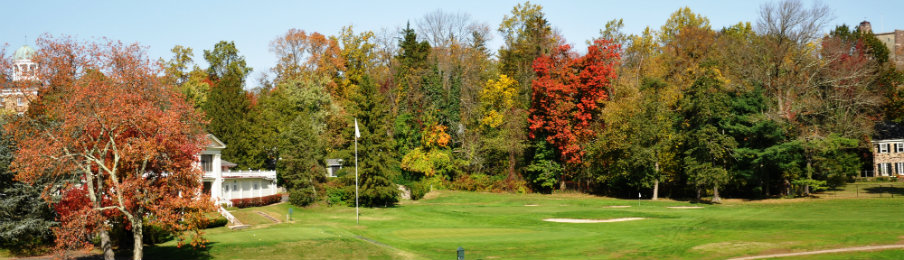 princeton golf course in fall