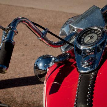Giant Harley Davidson Motorcycle Near Green Bay Wisconsin