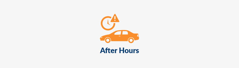 returning rental car out of hours US banner