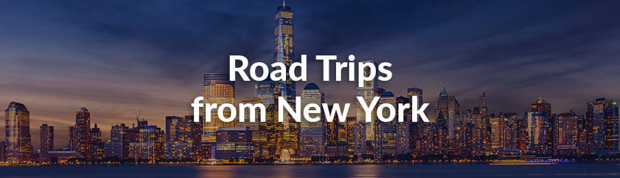 Road Trips from New York, USA guide banner