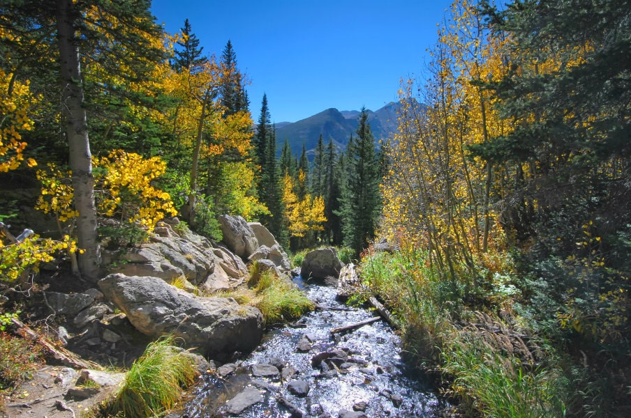 Rocky Mountain National Park in Colorado, USA