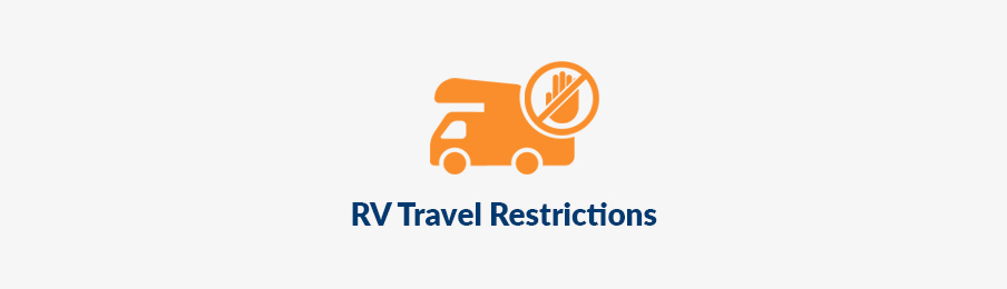 RV travel restrictions in the USe banner