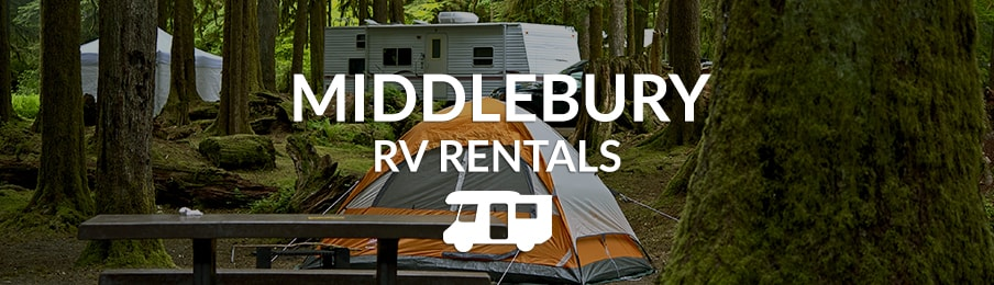 Camping with an RV in Middlebury