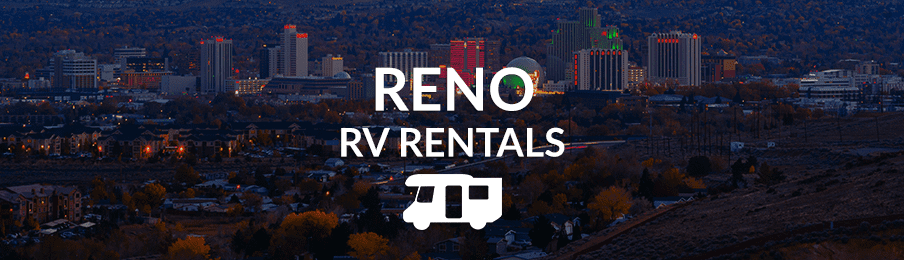 View of Reno at night