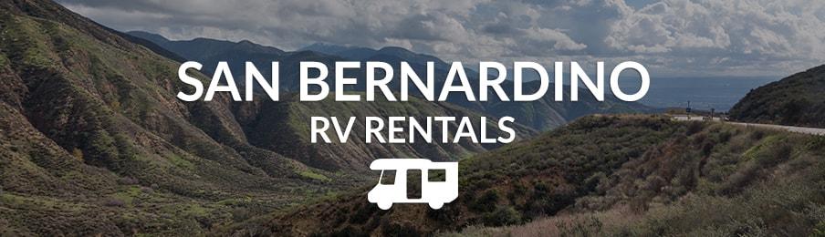 San Bernardino RV Rentals
