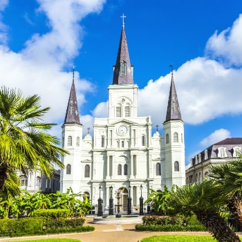 saint louis cathedral in the french quarter