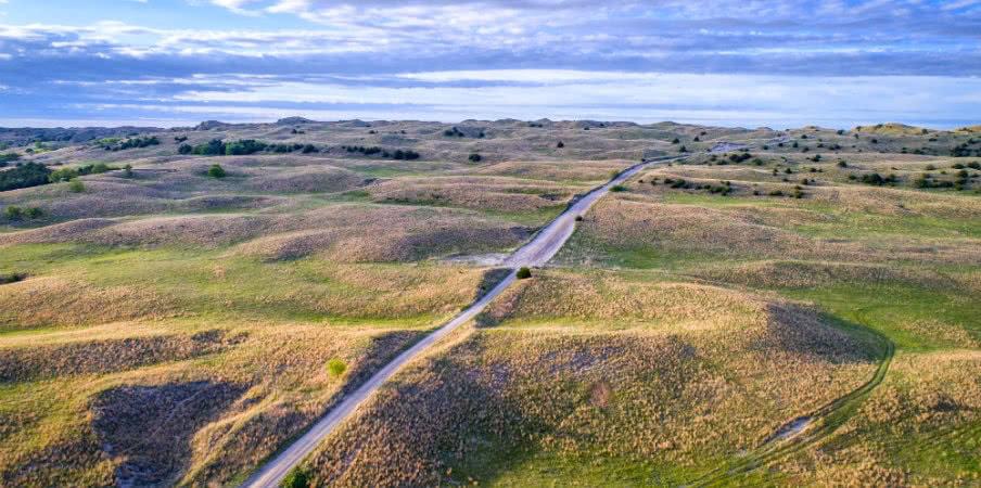 sandy road nebraska sandhills seneca