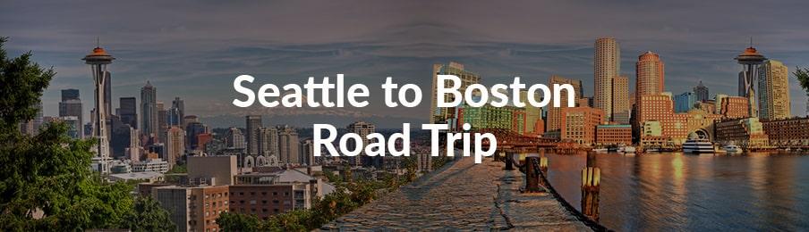 seattle to boston road trip