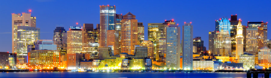 Skyline of Boston, Massachusetts, USA