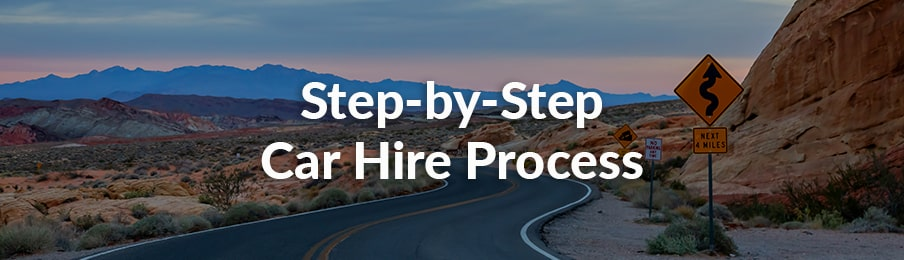 step by step car hire process