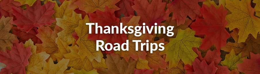 Thanksgiving Road Trips USA