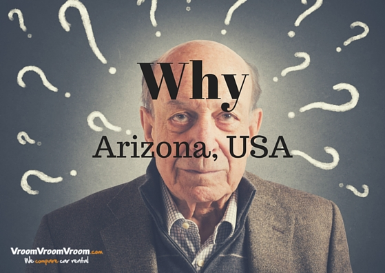 Why City name Arizona USA